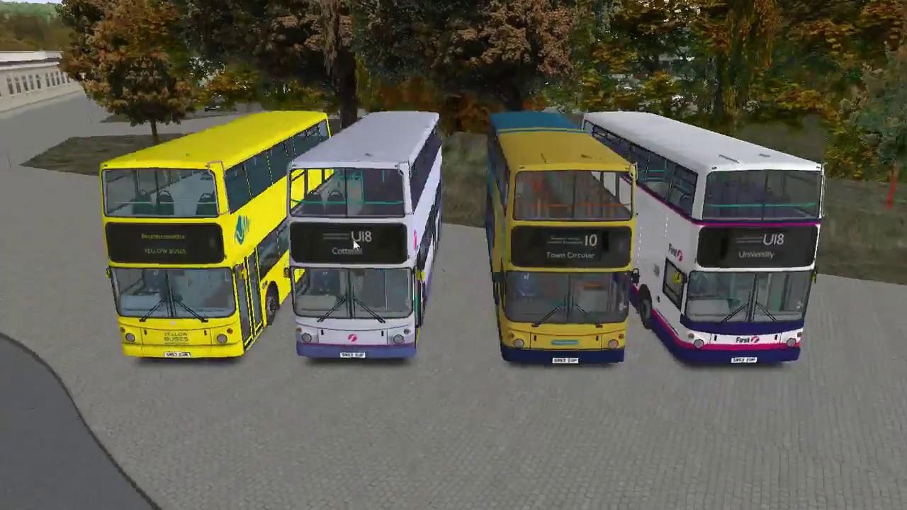 V3D Studios Transbus ALX400 public release - YouTube