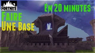 Fortnite: Create an ultra-compact Base for Your Defenses in Saving the World - Tuto 1