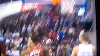 Lebron Alley-Oop Pass to Moon vs Pistons