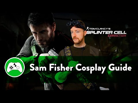 Sam Fisher Splinter Cell: Conviction Cosplay Guide