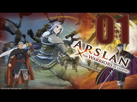 Arslan The Warriors of Legend - Gameplay Walkthrough Part 1 - Eng (PS4, PC) No Commentary