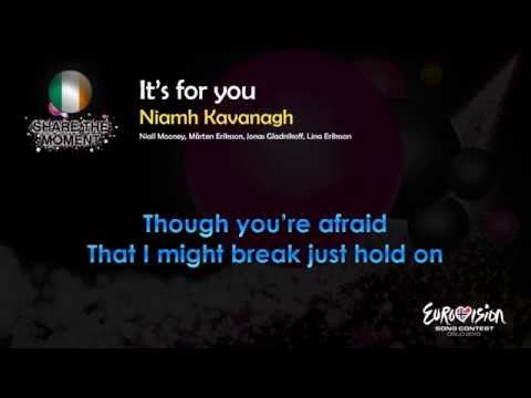 "Niamh Kavanagh - ""It's For You"" (Ireland) - [Karaoke version]"
