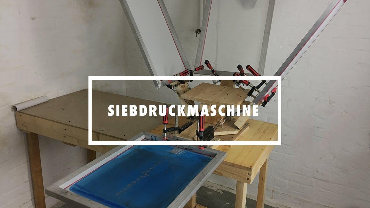 DIY Siebdruckmaschine selber bauen