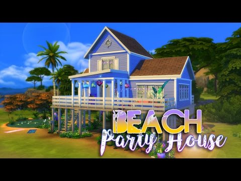 Sims 4 House Build - Beach Party House