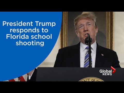 WATCH LIVE: President Trump remarks on Florida school shooting