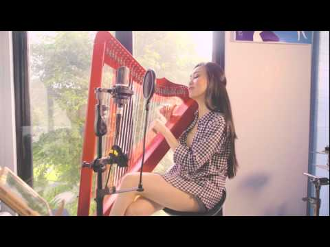 Sorry - Justin Bieber (Vocal and Harp Cover by Angela July)