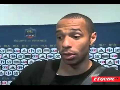 Thierry Henry interview post Lithuania game