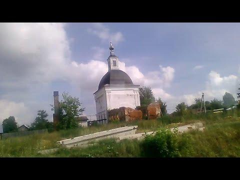 . Ардатов. Поездка по поселку на автобусе (Нижегородская область)