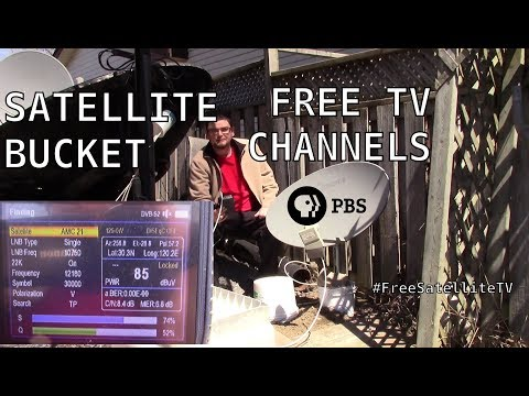 How To Get PBS With A Free Satellite TV Dish (Subscription FREE TV) With A Shaw Direct Dish