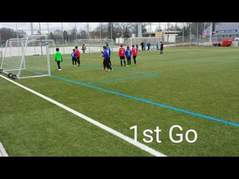 Juelz Romeo Glenn with 2 Goals: SG Rot-Weiss Frankfurt vs Enkheim 5-0 ( Fussball, Football, Soccer )