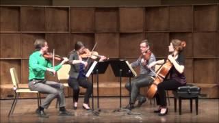 Beethoven Op. 130: I. Adagio ma non troppo - Allegro. Strataphoria Quartet.
