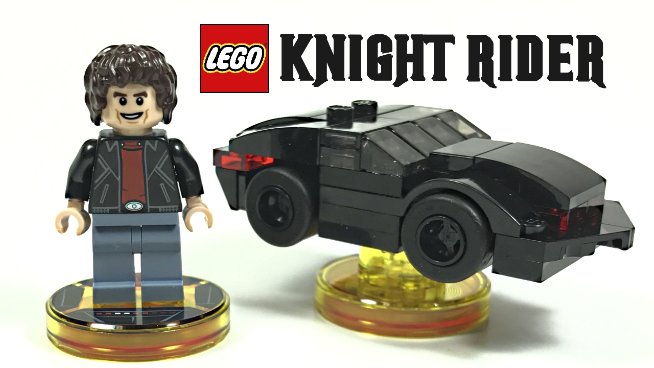 lego dimensions knight rider fun pack review 2017 set. Black Bedroom Furniture Sets. Home Design Ideas