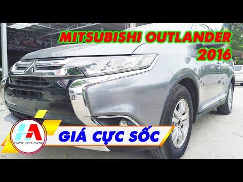 Giá cực sốc cho em Mitsubishi Outlander 2016 số tự động nhập Nhật này | Siêu thị ô tô Hùng Anh