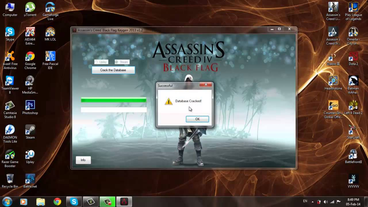 assassins creed 4 keygen free download for pc