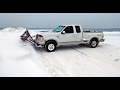 Hot Water SnowPlow in action on test Day