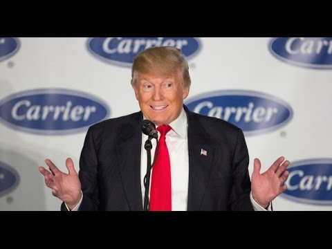 WATCH: Trump Brags About Keeping Carrier Jobs In America
