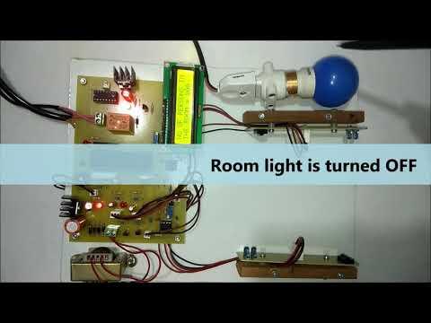 automatic room light