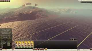 Total War: Rome II - Battle Of The Nile Victory Gameplay Caesar Against Ptolemy XIII Theos