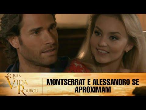 Download O Que a Vida Me Roubou - Montserrat e Alessandro conversam sobre os empregados e se aproximam