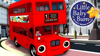 Wheels On The Bus | Part 6 | Nursery Rhymes | by LittleBabyBum!
