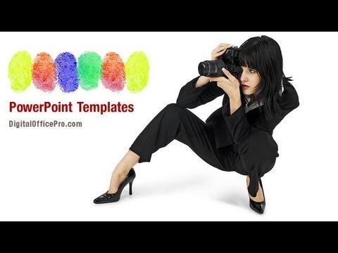 forensic photography powerpoint template backgrounds, Modern powerpoint