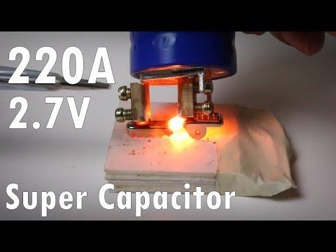 Super Capacitor ซุปเปอร์ คาปาซิเตอร์ maxwell