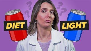 Qual a diferença entre DIET e LIGHT?