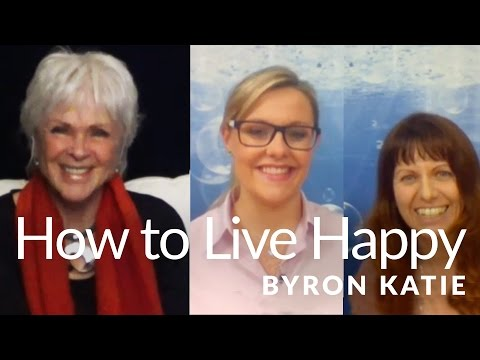 How to Live a Happy Life—The Work of Byron Katie Czech/English