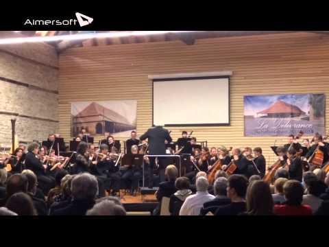 L'Orchestre National de Lorraine joue Beethoven à Dieuze
