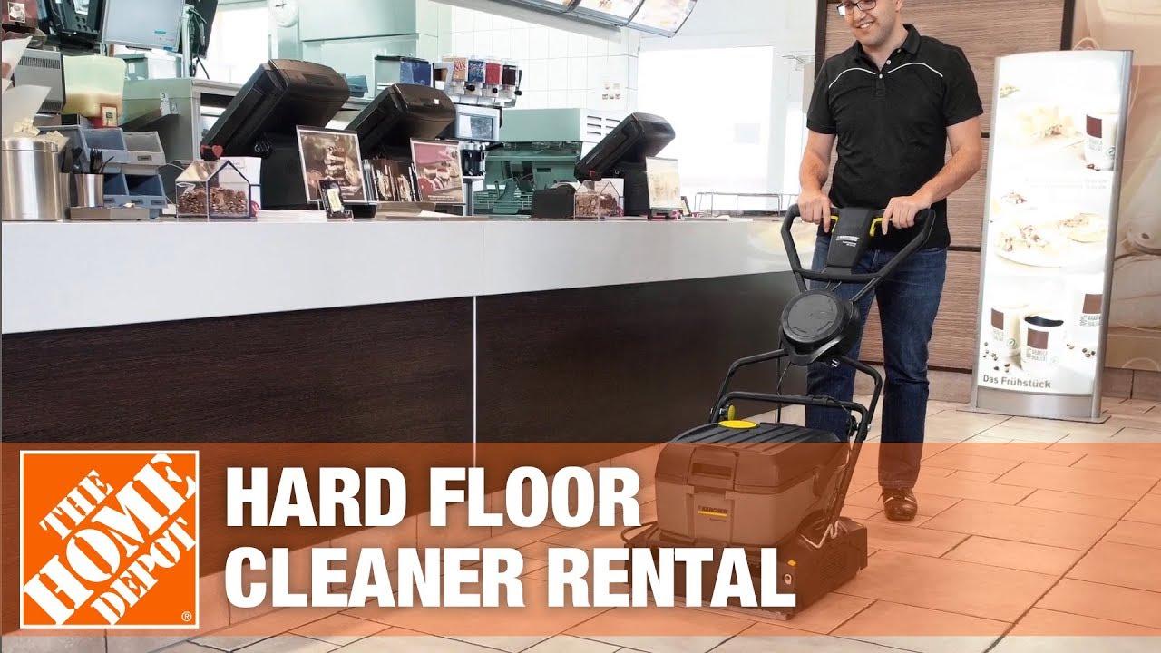 Karcher Hard Flooring Cleaner The Home Depot Rental Youtube