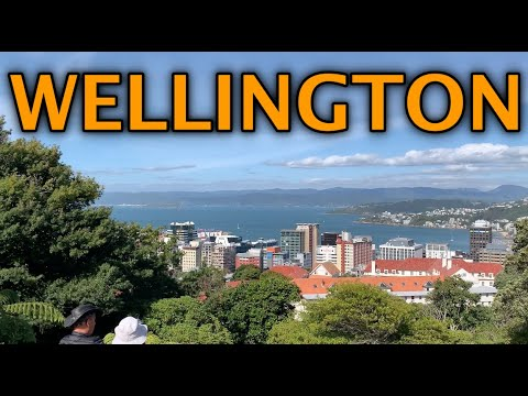 Wellington New Zealand Travel Tour 4K 2020