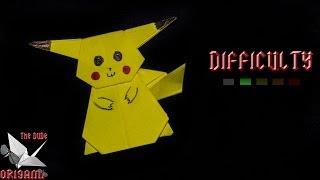 [origami Tutorial] Pokémon Pikachu || Pokémons/kids
