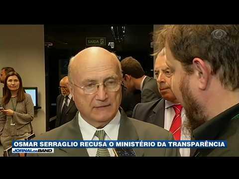 Osmar Serraglio recusa o Ministério da Transparência