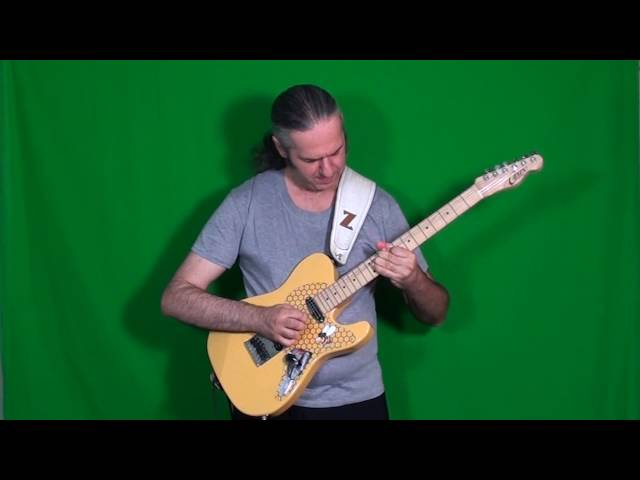 MARCELLO ZAPPATORE plays GARY MOORE's solo on YOU UPSET ME BABY