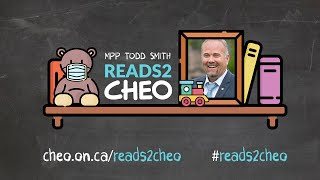 """MPP Todd Smith #Reads2CHEO - """"The Dot"""" by Peter H. Reynolds"""