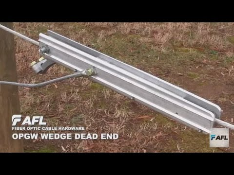 AFL OPGW Wedge Dead End Installation