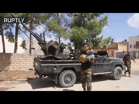 Clashes between Libya's Government forces and Haftar's Army resume in southern Tripoli