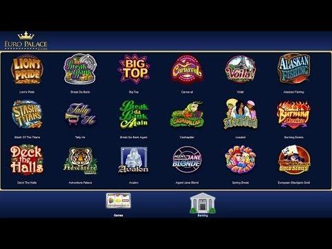 Video Euro casino bonus