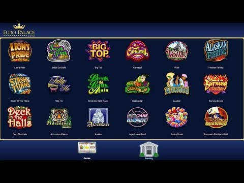 Euro Palace -- Mobile Casino by Euro Casino - Christmas Bonus