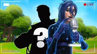 Girl Voice Trolling LIVE.. in Fortnite 💁 (Code: Absorber)