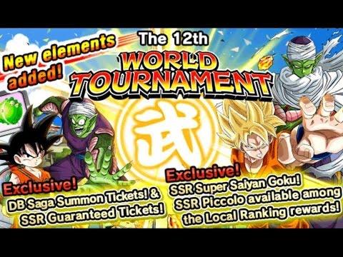 The 12th World Tournament: Best Team Builds: 20x Ambition Difficulty! DBZ Dokkan Battle