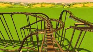 RCT3 Expedition Everest! (Without Scenery)