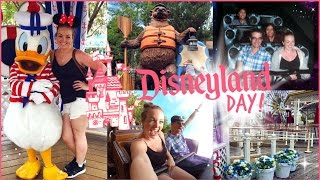 Disneyland & Disney California Adventure Day! ♡ | brogantatexo