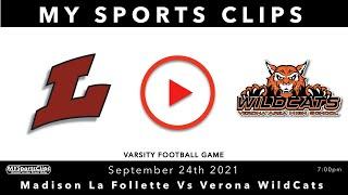 #MadisonLafolletteLancers Vs #VeronaWildCats