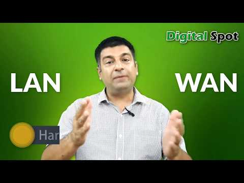 Difference between LAN & WAN in Hindi