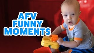 ☺ AFV (New) Silly Moments and Funny Fails Caught on Tape!