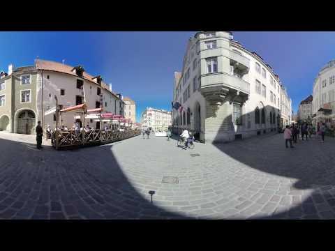 [3D 360 VR]Raekoja Plats, Tallinn, Estonia