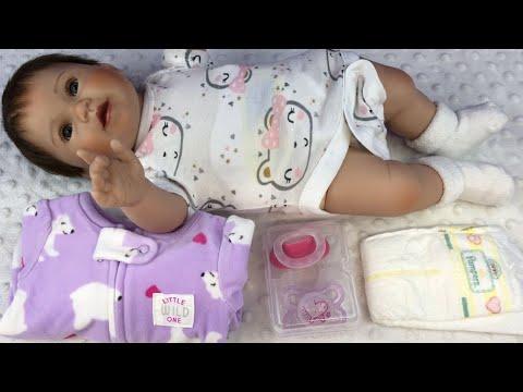 Changing Ashton Drake Littlest Sweetheart Doll Into Her Valentines Day Sleeper