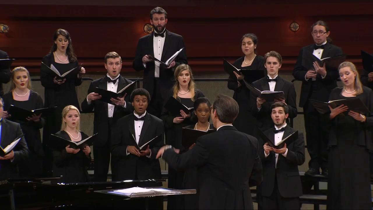 UNT A Cappella Choir: Shenandoah