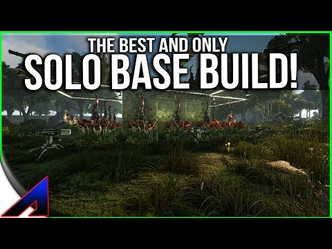 Solo PvP base Build and a place to put it!  Official PvP   ARK: Survival Evolved